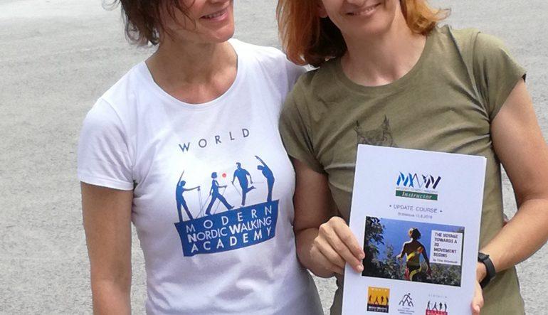 Nordic Walking s Tiinou Arrankoski